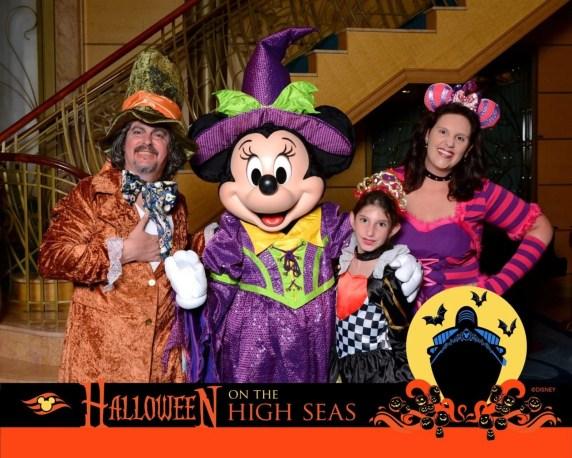halloween no navio disney