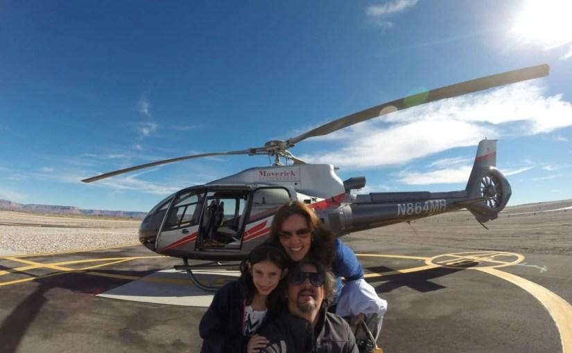 Passeio de helicóptero em Las Vegas e Grand Canyon