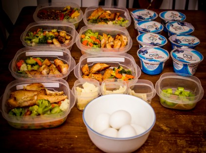 Meal Prep on Table