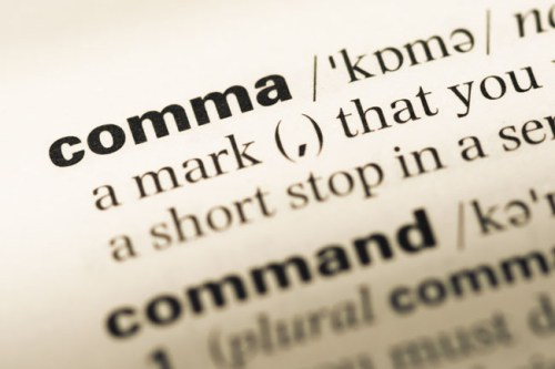 Comma defintion