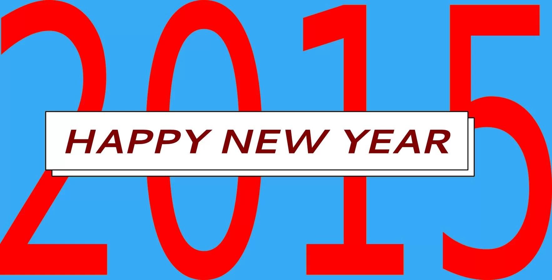 HAPPY NEW YEAR 2015 1