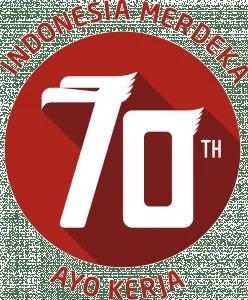 logo hut RI ke 70