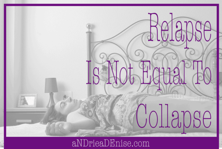 relapse not collapse