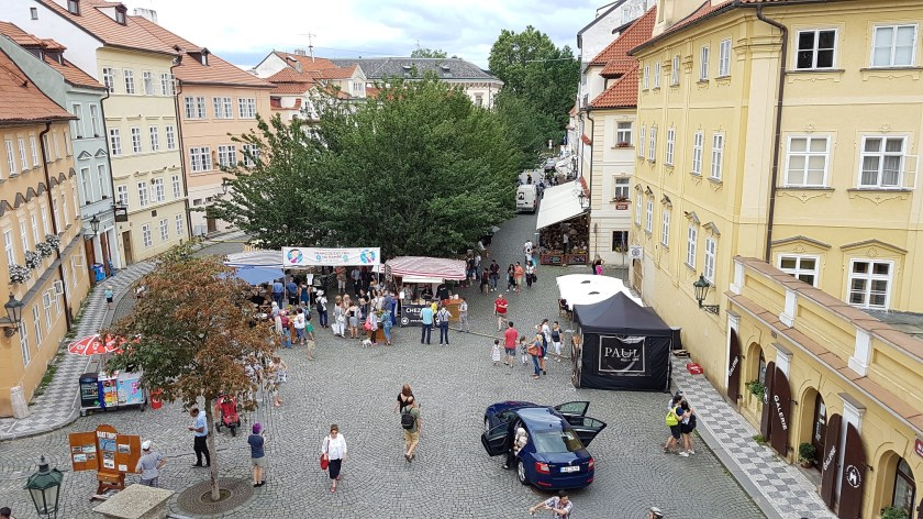 Французский рыночек на Кампе Прага