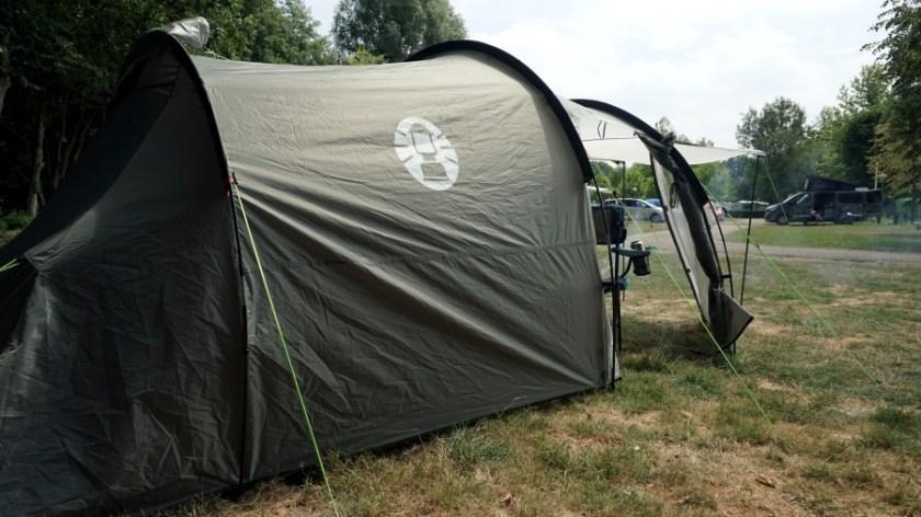 Лучшая палатка для двоих человек Coleman Coastline Plus (5)