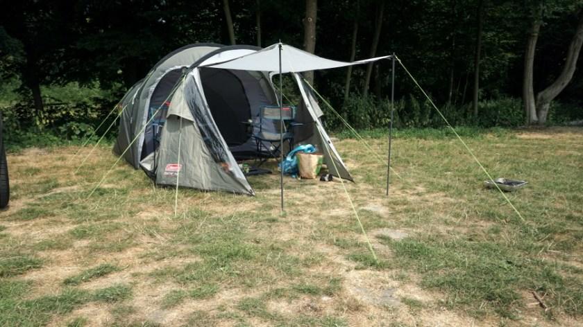 Лучшая палатка для двоих человек Coleman Coastline Plus (8)