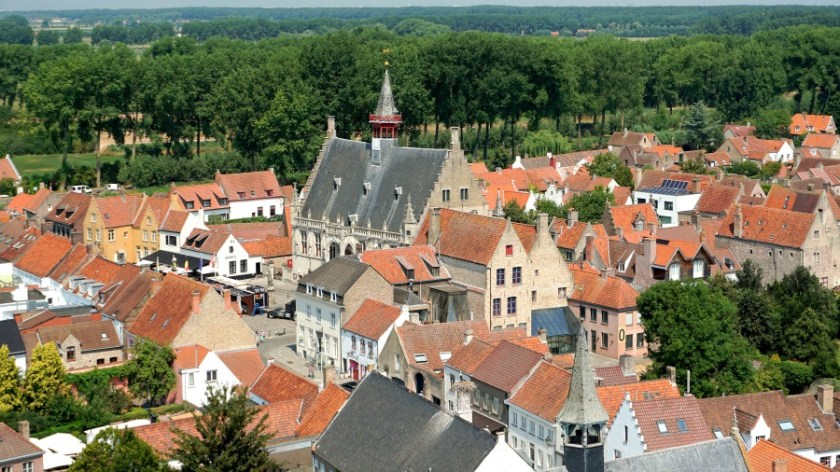 Бельгия город Дамме (3)