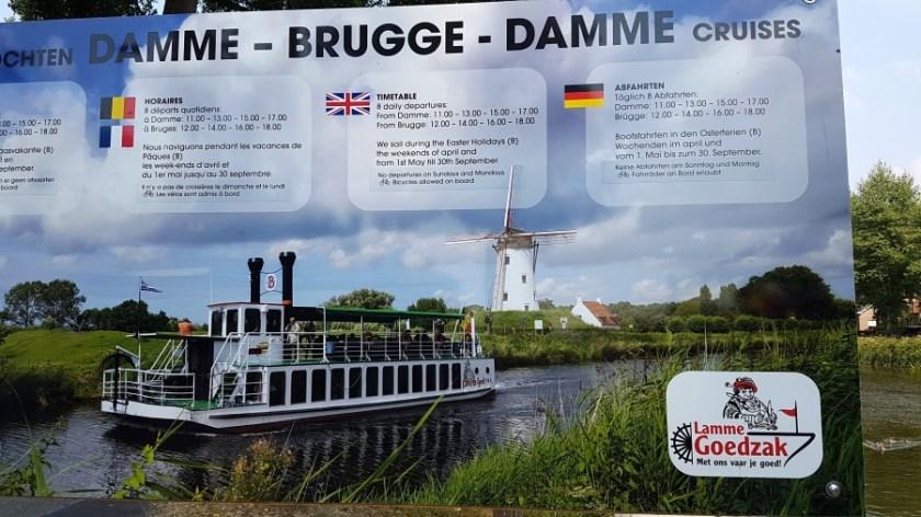 На корабле из Брюгге в Дамме (1)