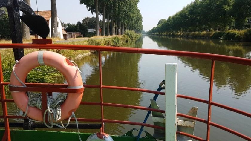 На корабле из Брюгге в Дамме (2)
