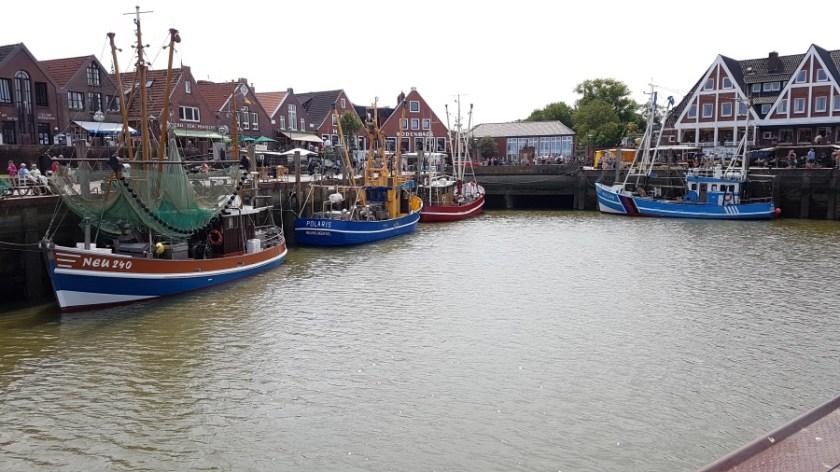 Нойхарлингерзиль Германия рыбацкая деревня (1)