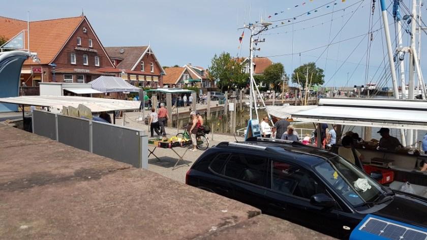Нойхарлингерзиль Германия рыбацкая деревня (5)