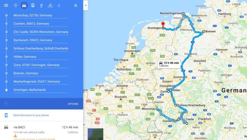 2018-10-04 10_45_36-Monschau, Germany to Groningen, Netherlands - Google Maps