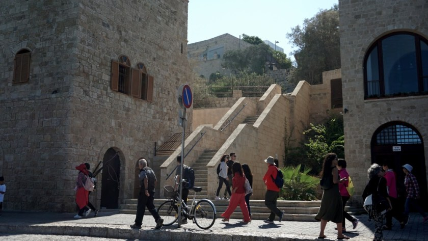 Walking day in Old Jaffa Israel (5)