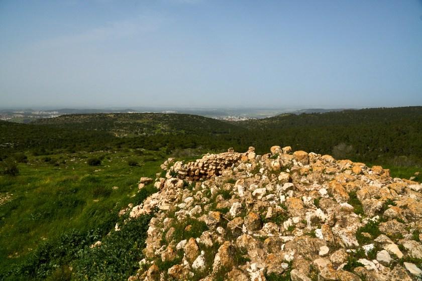 Развалины Бейт Итаб смотровая площадка