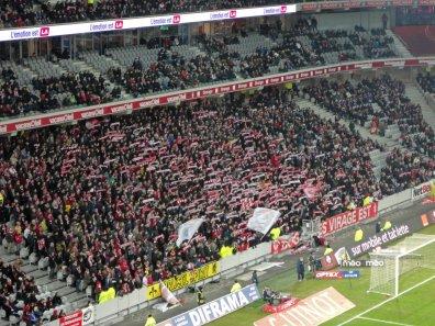 Fankurve von Lille