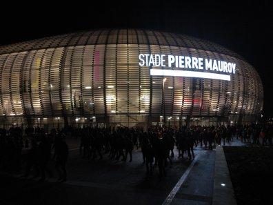 Das Stadion bei Nacht