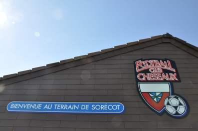 Das Clubhaus des FC Cheseaux