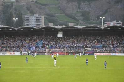 Blick auf die Fans des FC Porto.