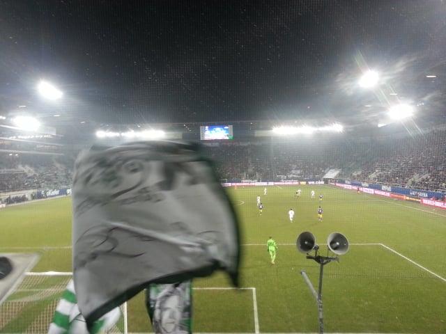 Der FCSG beim EL-Spiel gegen Swansea