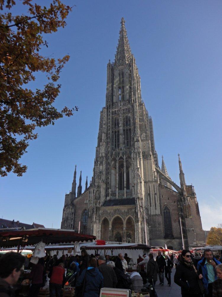 Das Ulmer Münster, das höchste der Welt