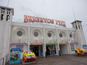 Der Pier in Brighton