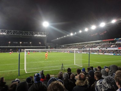 Die Portman Road in Ipswich