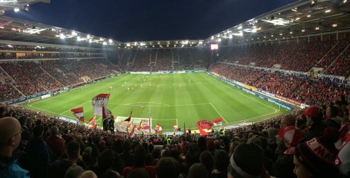 Panoramaansicht der Coface Arena