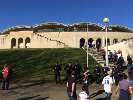 Eingang zum altehrwürdigen Stadion