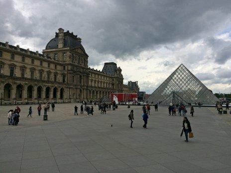 Das ebenso berühmte Musée du Louvre