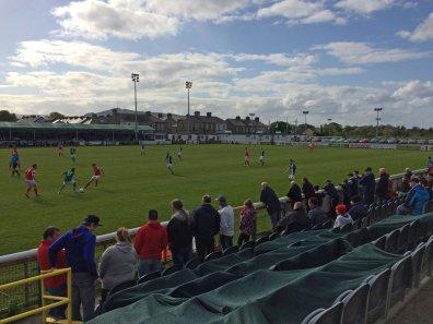 Erfreuliches Fussballwetter im verregneten Irland