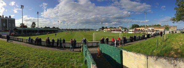 Panoramafoto der Spielstätte