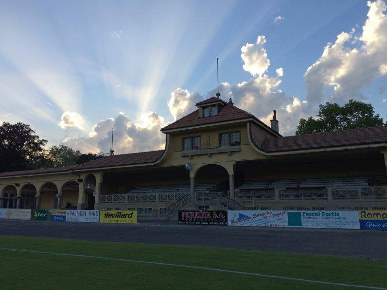 Zu Gast im schönsten Stadion der Schweiz