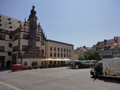 Innenstadt von Schweinfurt