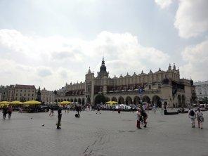 Der bekannte Marktplatz in Krakau
