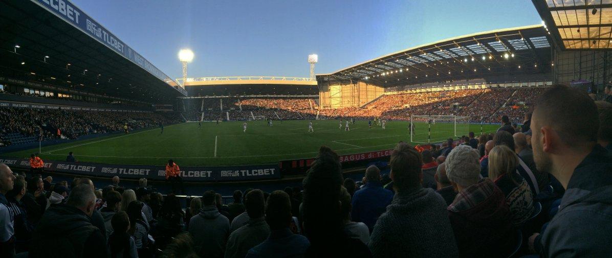 Panoramaansicht der netten Spielstätte