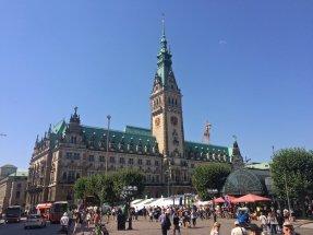 Das Rathaus in der Hansestadt