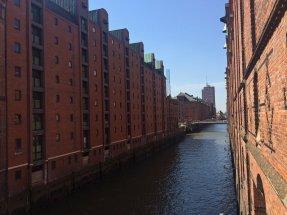 Die bekannte Speicherstadt in Hamburg
