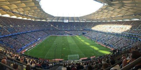 Panoramaansicht der Hamburger Spielstätte
