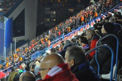 Türkische Fans vor Ort