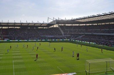 Kongruente Spielstätte wie in Derby