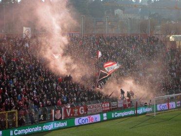 Rauchentwicklung im Block von Vicenza