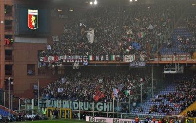 Die äusserst zahlreich angereisten Anhänger aus Turin