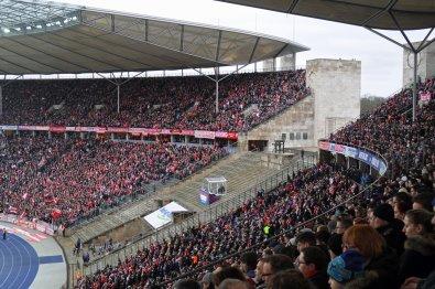 Die mitgereisten Anhängern der Bayern
