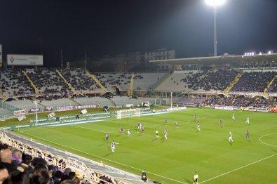 Sicht in das Stadio Artemio Franchi