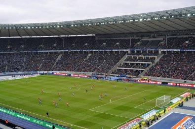 Die Haupttribüne im Berliner Olympiastadion
