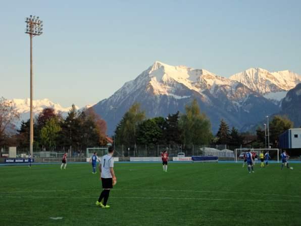 Berner Alpenpanorama im Oberland
