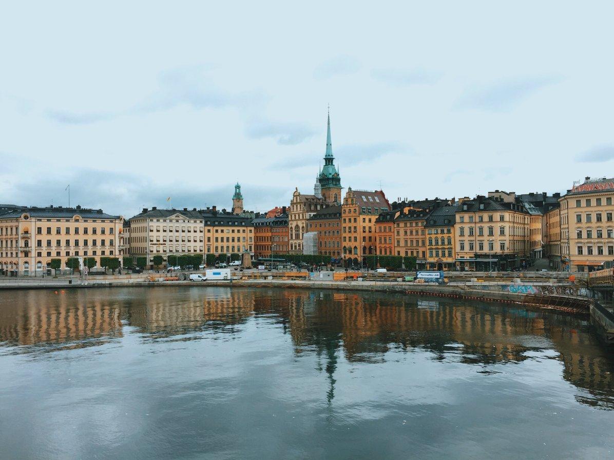 Stockholm, die Hauptstadt von Schweden