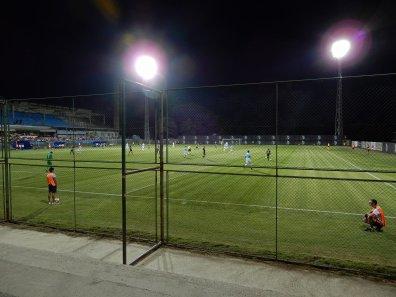 Das etwas spezielle Stadion mit einem einzigen nennenswerten Ausbau