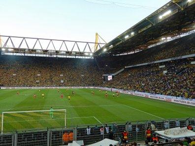 Volle Ränge beim Supercup gegen die Bayern