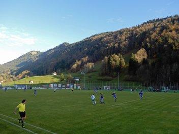 Wunderschöne Aussicht am Sportplatz Bezegg